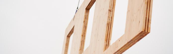 Ingenjörsfirman J Mared del av Södras nya fabrik för KL-trä